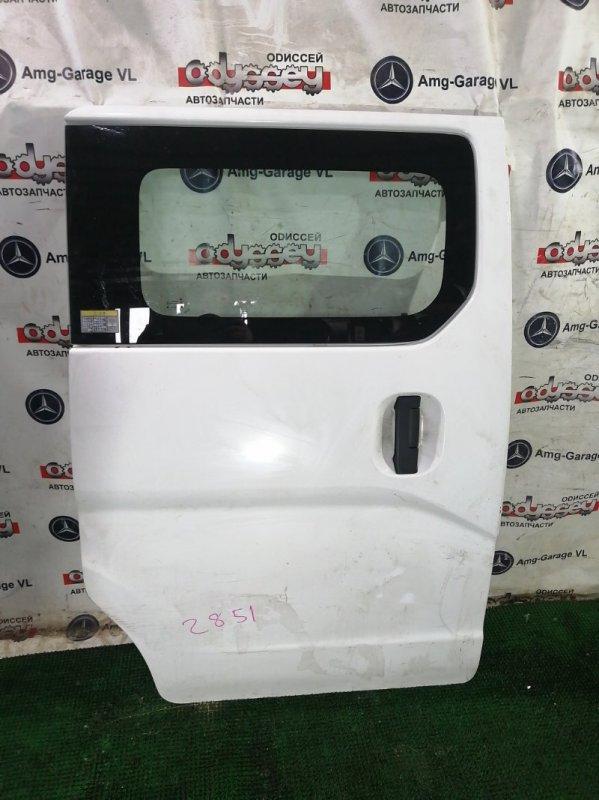 Дверь Mitsubishi Delica VM20-705061 HR16 DE 2013 задняя правая