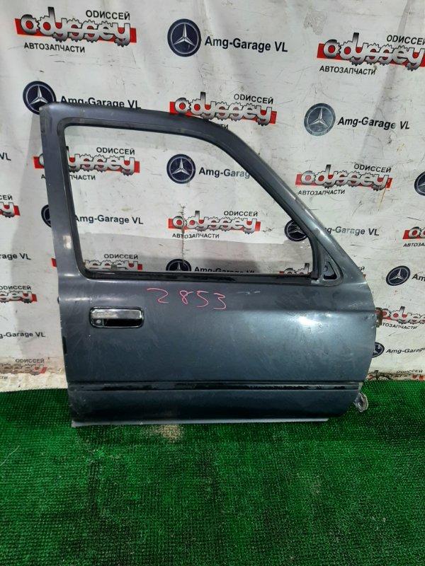 Дверь Toyota Hilux Surf LN130-0074432 2LTE 1991.09 передняя правая