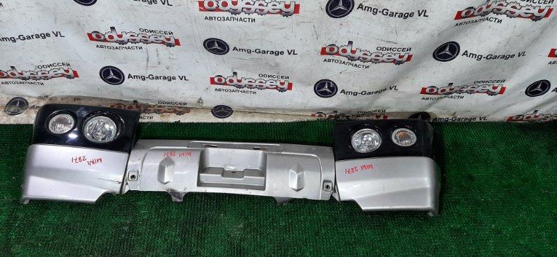 Бампер Mitsubishi Pajero Mini H58A 4A30-T 2001 передний