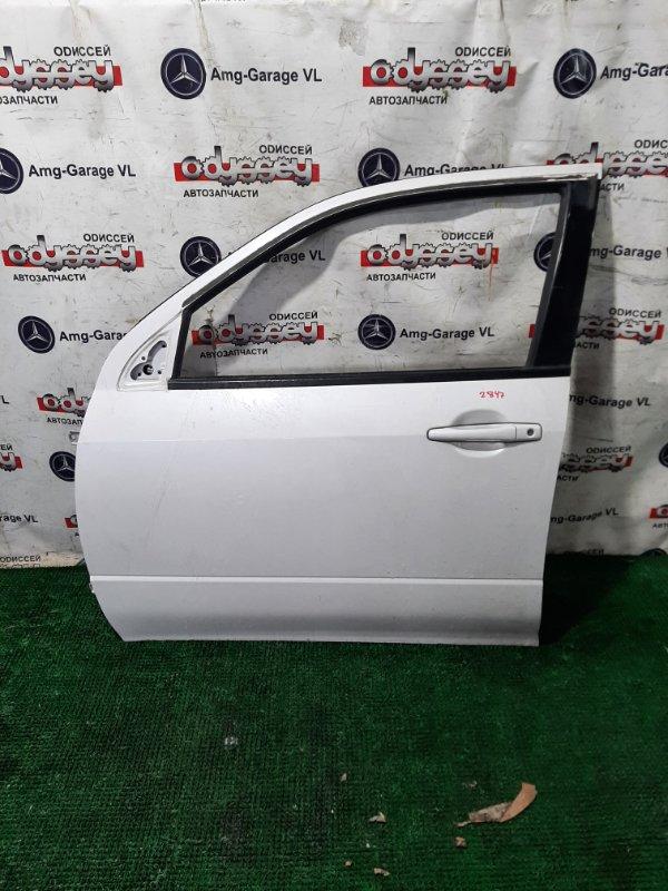 Дверь Mitsubishi Airtrek CU4W 4G64 2003 передняя левая
