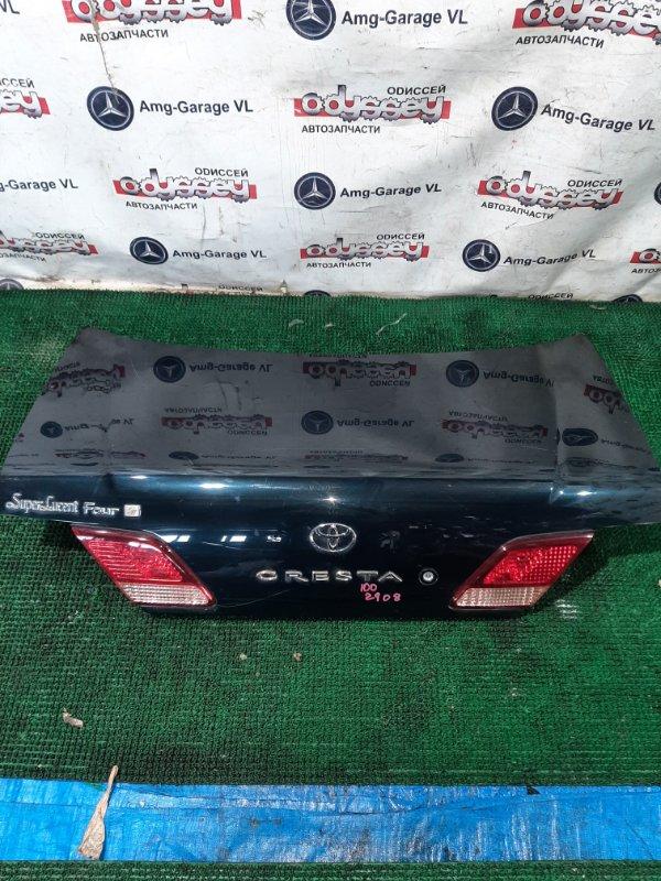 Крышка багажника Toyota Cresta JZX105 1JZ 2000