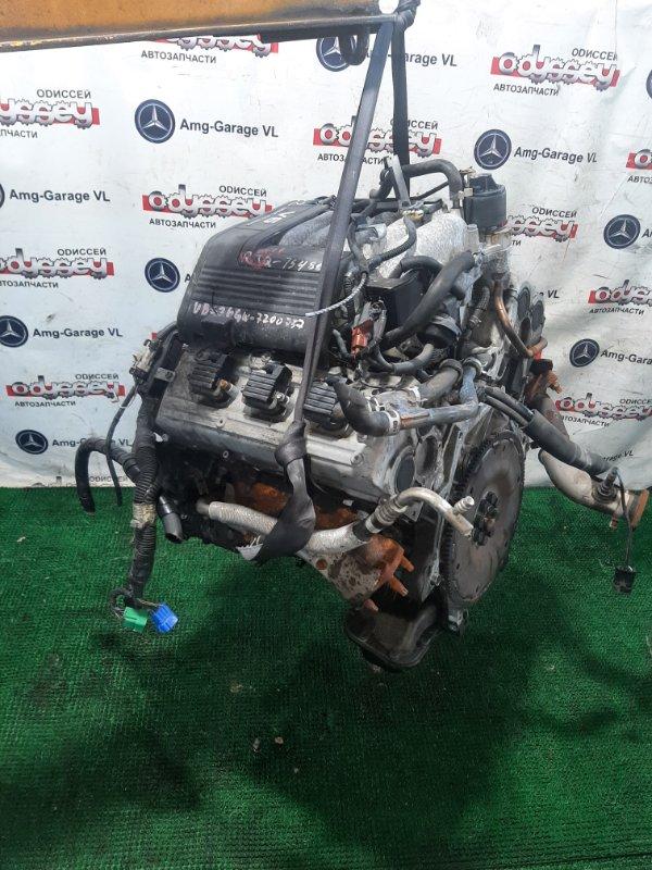 Двигатель Isuzu Bighorn UBS26GW-7200757 6VE1 1999