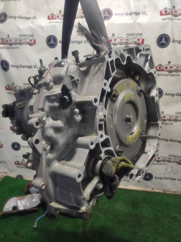 Автомат Nissan Note NE12 HR12DDR 2013