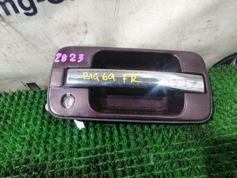 Ручка двери Isuzu Bighorn UBS69GW 4JG2 1993 передняя правая