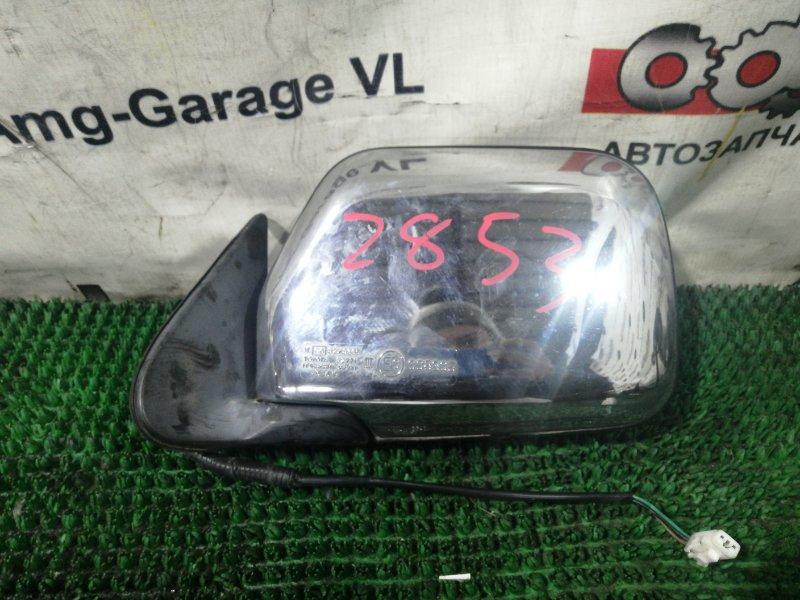 Зеркало Toyota Hilux Surf LN130-0074432 2LTE 1991.09 переднее левое