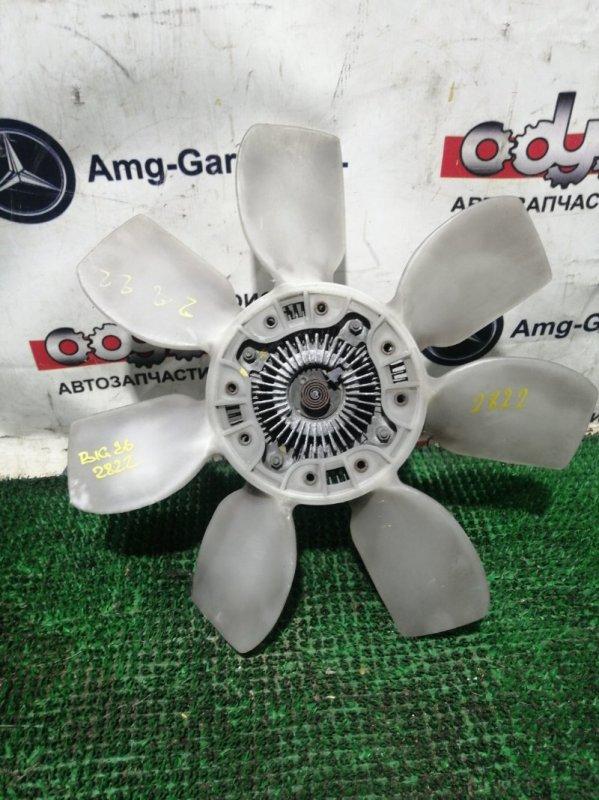 Вентилятор с вязкостной муфтой Isuzu Bighorn UBS26GW-7200757 6VE1 1999