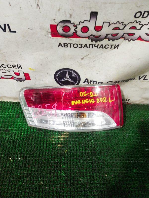 Стоп Toyota Avensis ZRT272 3ZRFAE 2011.07 левый