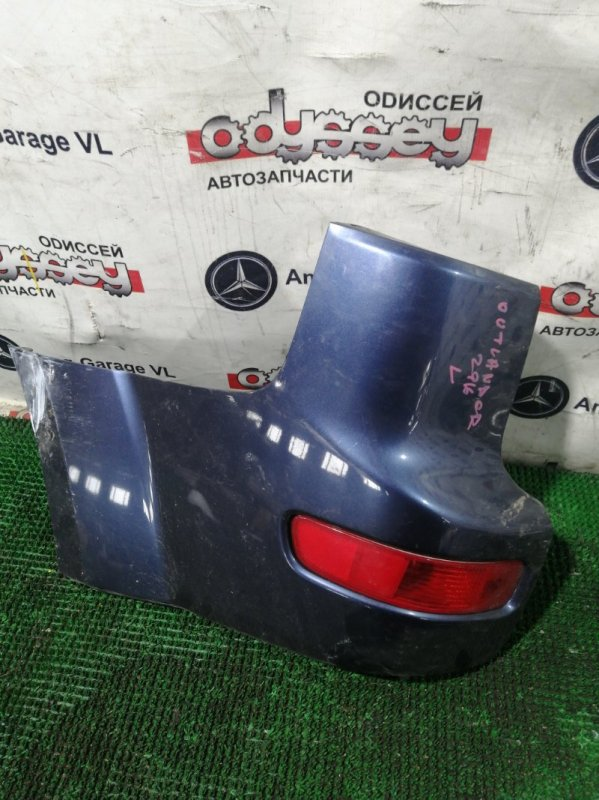 Клык бампера Mitsubishi Outlander CW5W 4B12 2005 задний левый