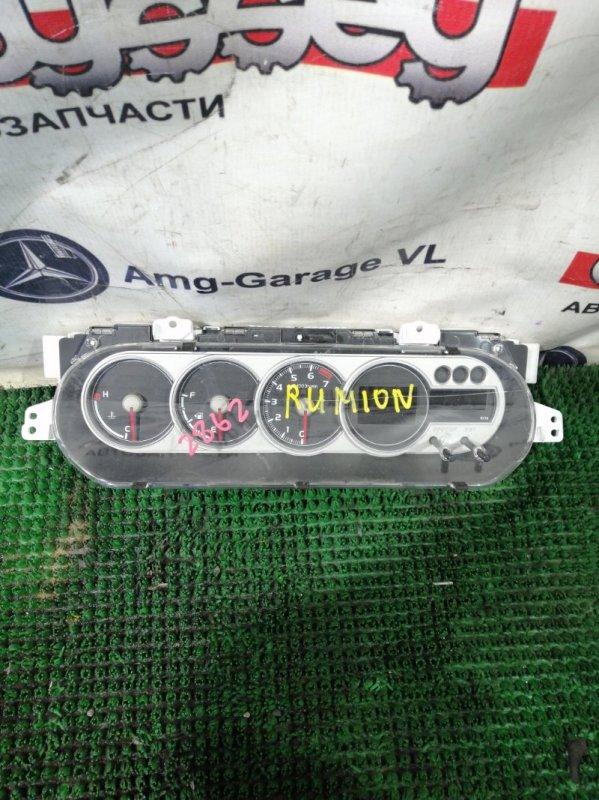 Панель приборов Toyota Corolla Rumion ZRE154 2ZRFE 2008.02