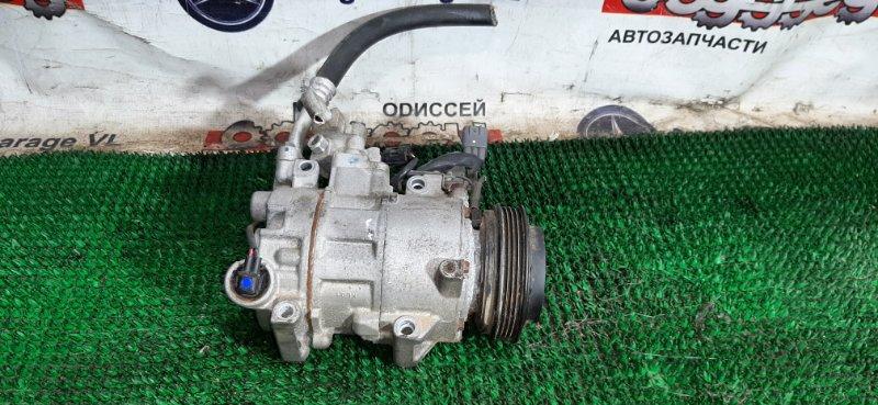 Компрессор кондиционера Toyota Iq KGJ10 1KR-FE 2010