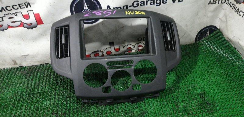 Консоль магнитофона Nissan Nv 200 VM20 HR16DE 2008