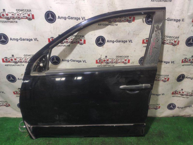 Дверь Mitsubishi Outlander CW5W 4B12 2006 передняя левая
