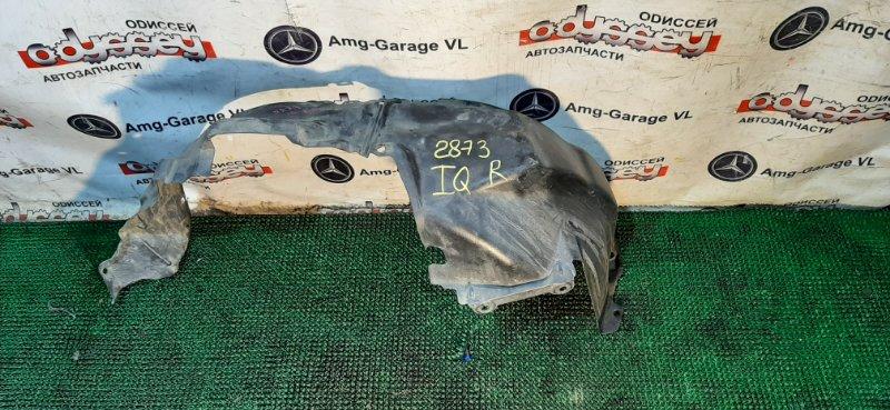 Подкрылок Toyota Iq KGJ10 1KR-FE 2010 передний правый