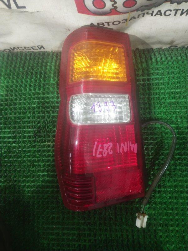 Стоп Mitsubishi Pajero Mini H58A 4A30-T 2001 правый