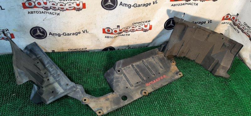 Защита двигателя Mitsubishi Outlander CW5W 4B12 2006