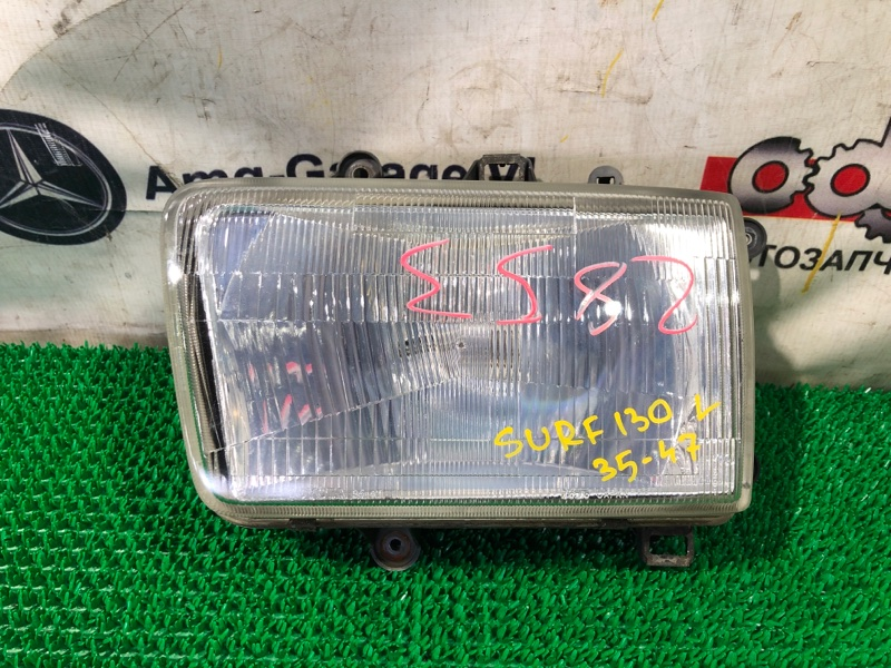 Фара Toyota Hilux Surf LN130-0074432 2LTE 1991.09 передняя левая