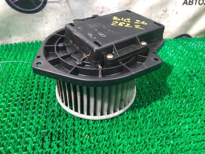 Мотор печки Isuzu Bighorn UBS26GW-7200757 6VE1 1999