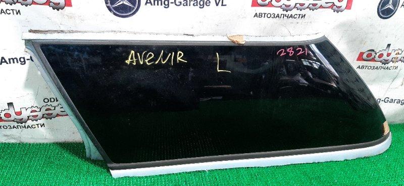 Стекло собачника Nissan Avenir RNW11 QR20(DE) 2003 заднее левое