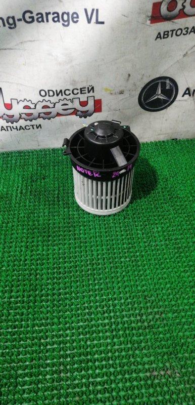 Мотор печки Nissan Note E12 HR12DE 2012