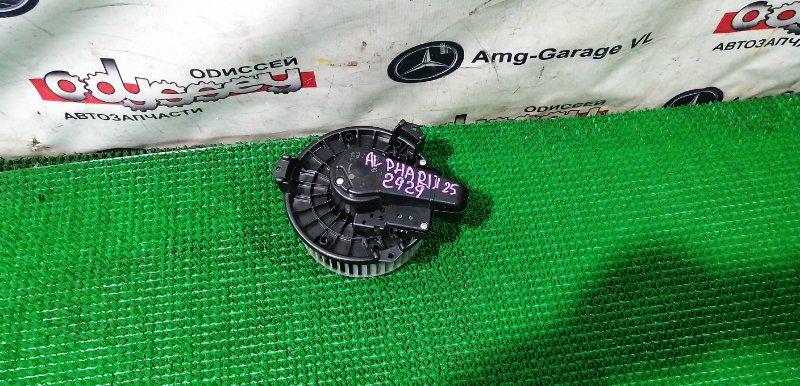 Мотор печки Toyota Alphard ANH25-8013509 2AZ-FE 2009