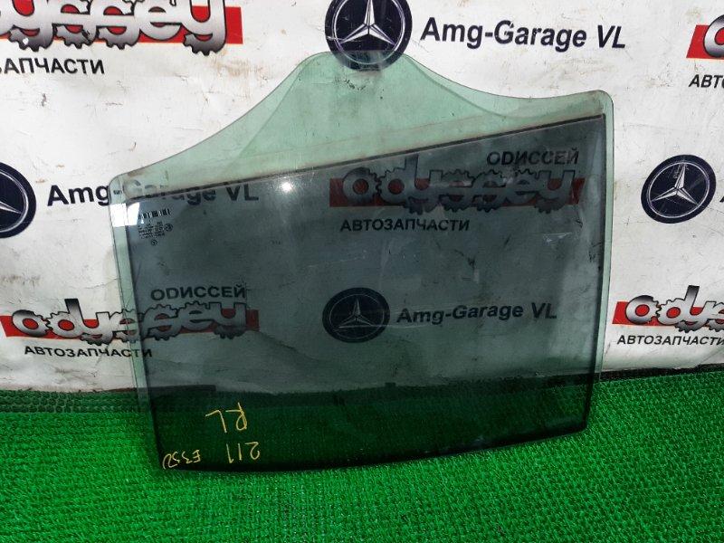 Стекло двери Mercedes E350 W211 272.964 заднее левое