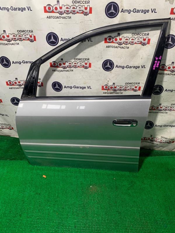 Дверь Toyota Nadia SXN15 3S-FE 2000 передняя левая