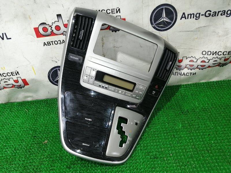 Консоль магнитофона Toyota Alphard ANH15 2AZ-FE 2005