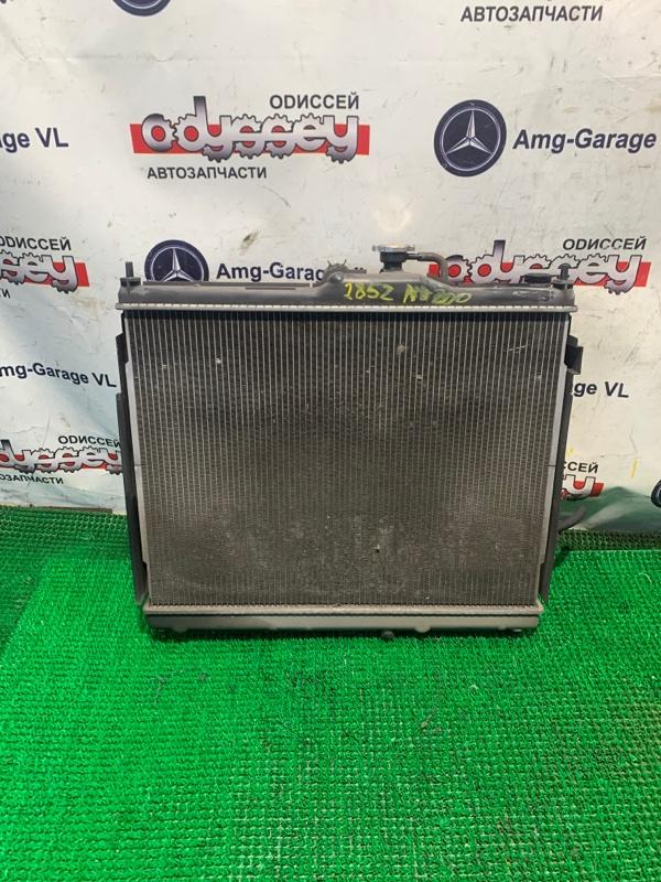 Радиатор Nissan Nv 200 VM20 HR16DE 2008