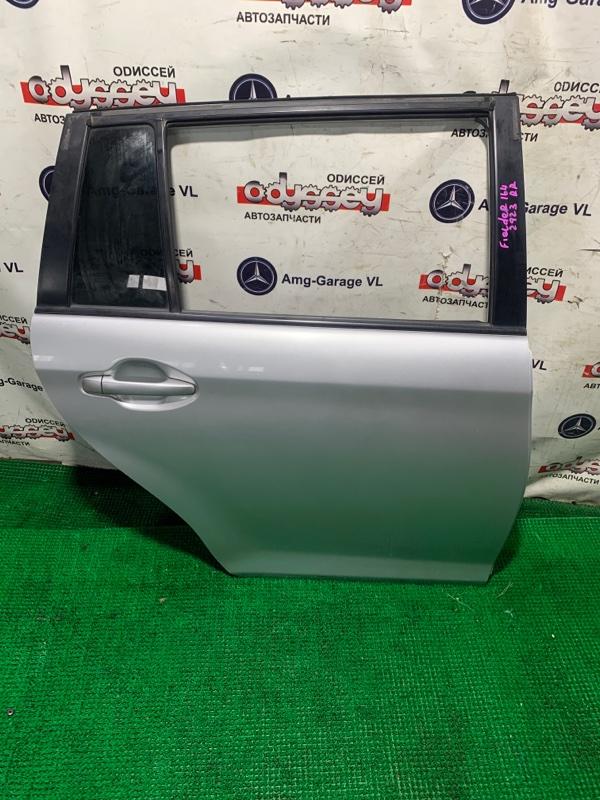 Дверь Toyota Corolla Fielder NZE164 1NZ-FE 2013 задняя правая