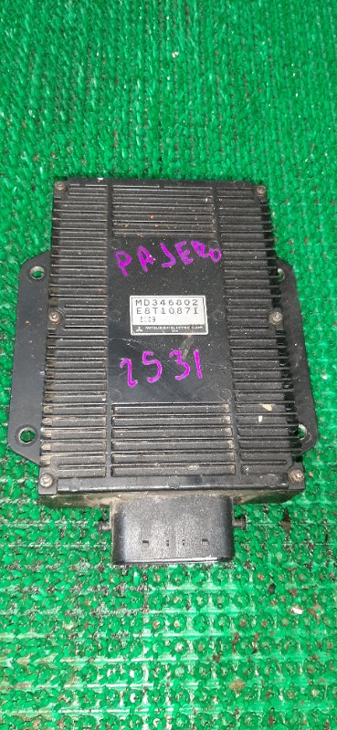 Блок управления форсунками Mitsubishi Challenger K99W 6G74 2008