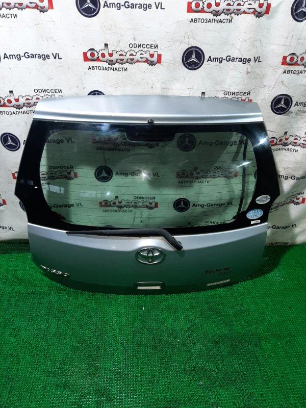 Дверь 5-я Toyota Passo KGC30 1KR-FE 2010