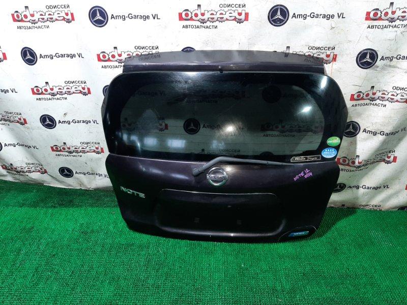 Дверь 5-я Nissan Note E12 HR12DE 2012