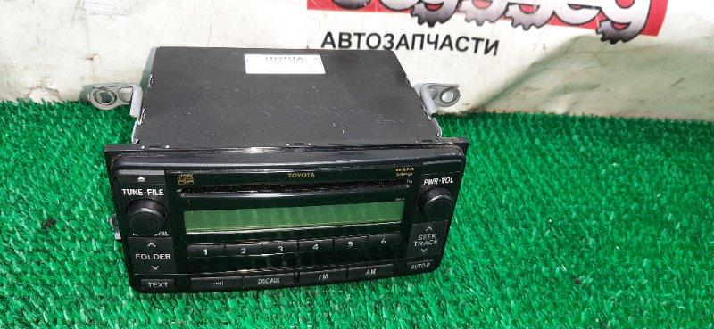 Магнитофон Toyota Corolla Rumion ZRE154 2ZRFE 2008.02