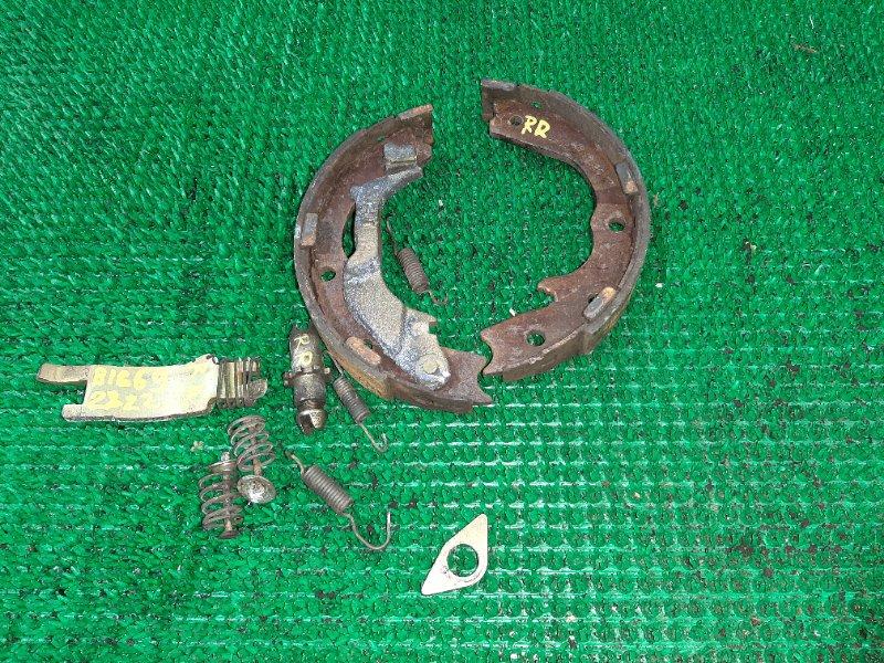 Колодки ручного тормоза Isuzu Bighorn UBS26GW-7200757 6VE1 1999 задние правые