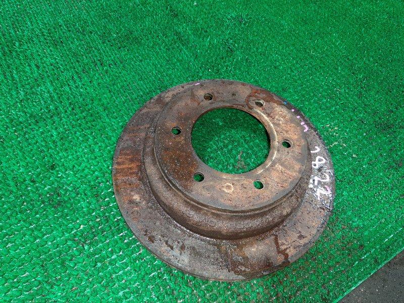 Тормозной диск Isuzu Bighorn UBS26GW-7200757 6VE1 1999 задний