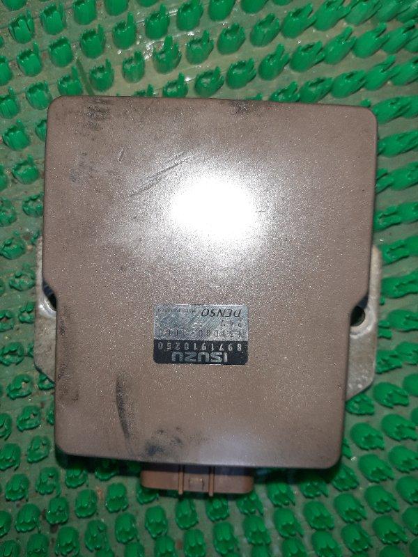 Блок управления форсунками Isuzu Elf NKR71E 4HG1 2001