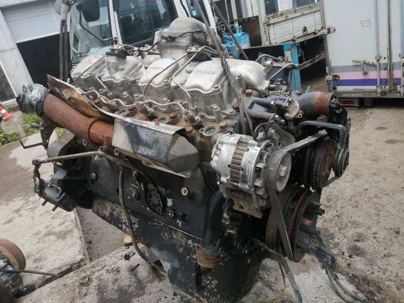 Двигатель Mitsubishi Fuso Great FV413J-520421 8DC8 1989