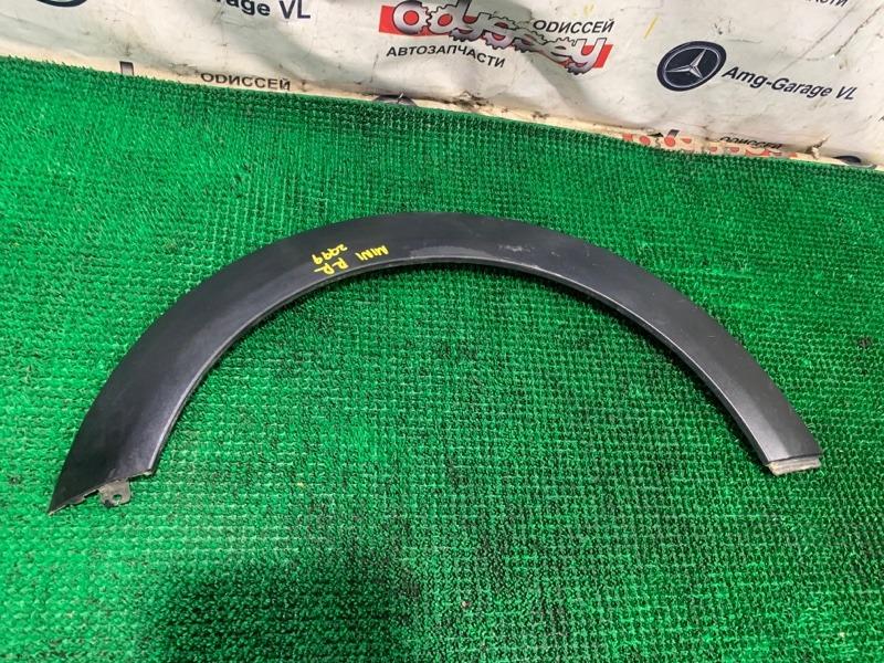 Накладка на крыло Bmw Mini Cooper S WMWMF720301 N14B16A 2008 задняя правая