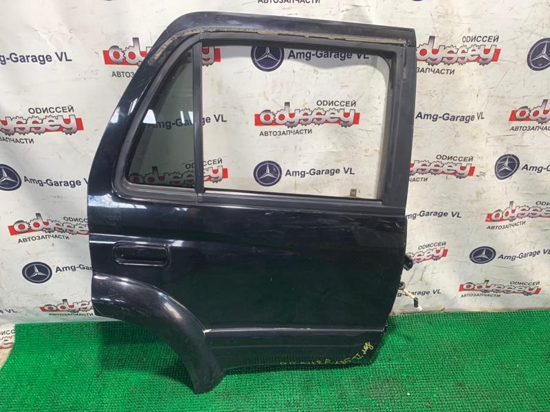 Дверь Toyota Hilux Surf KZN185 1KZ-TE 1998 задняя правая