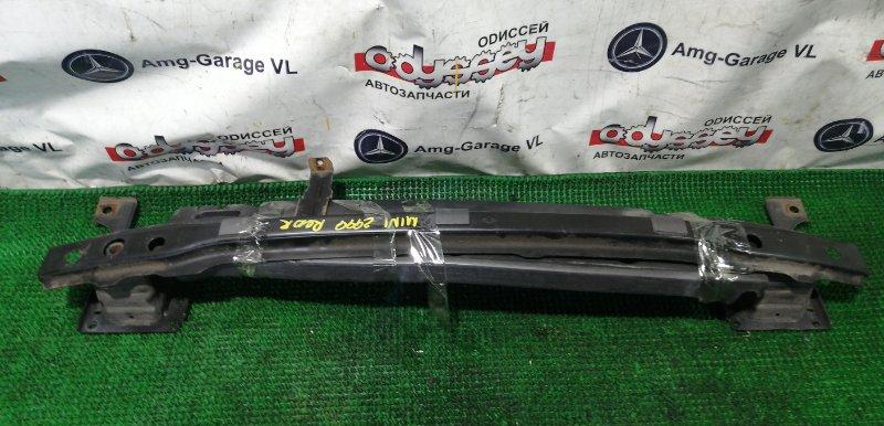 Жесткость бампера Bmw Mini Cooper S WMWMF720301 N14B16A 2008 задний