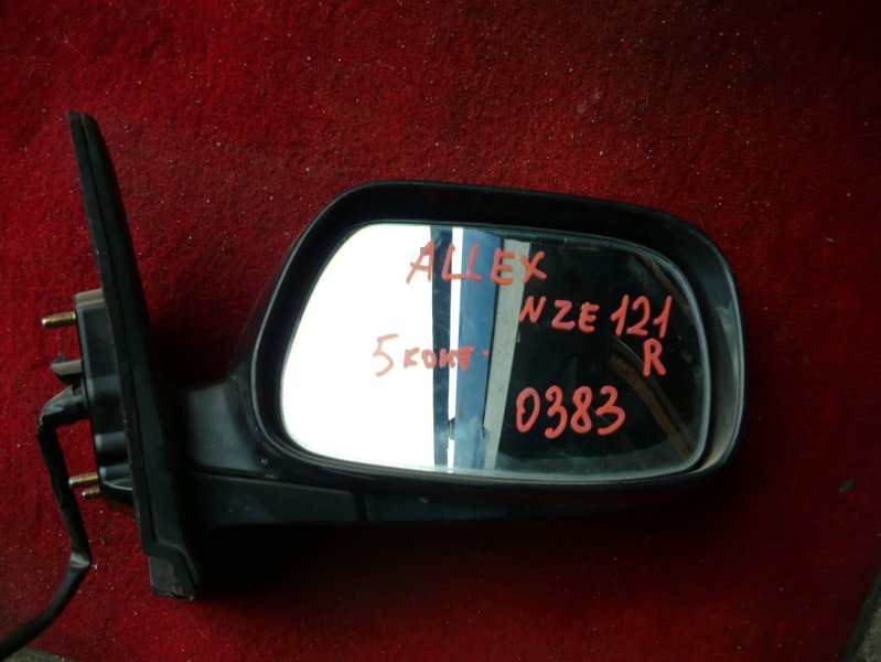 Зеркало Toyota Allex NZE121 переднее правое