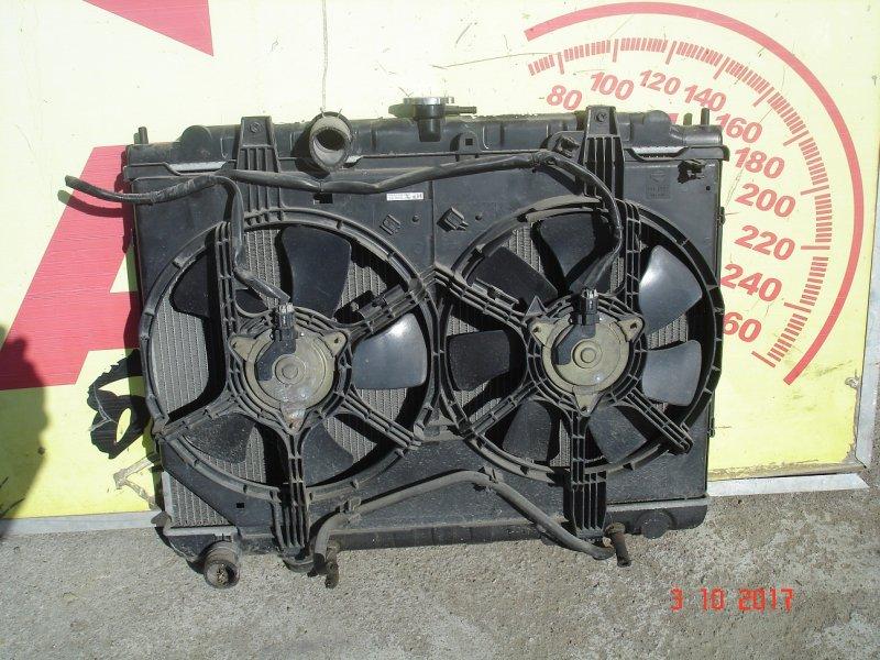 Радиатор основной Nissan Bassara U30 QR25