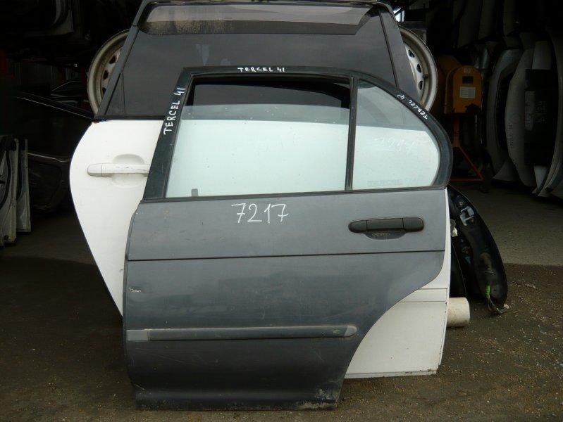Дверь Toyota Tercel EL41 задняя левая