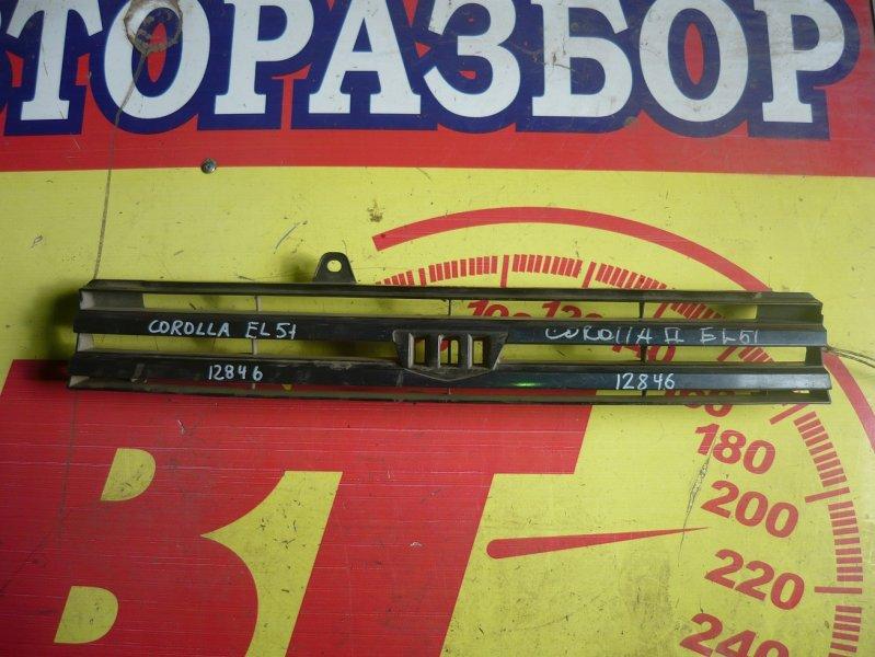 Решетка радиатора Toyota Corolla Ii EL51