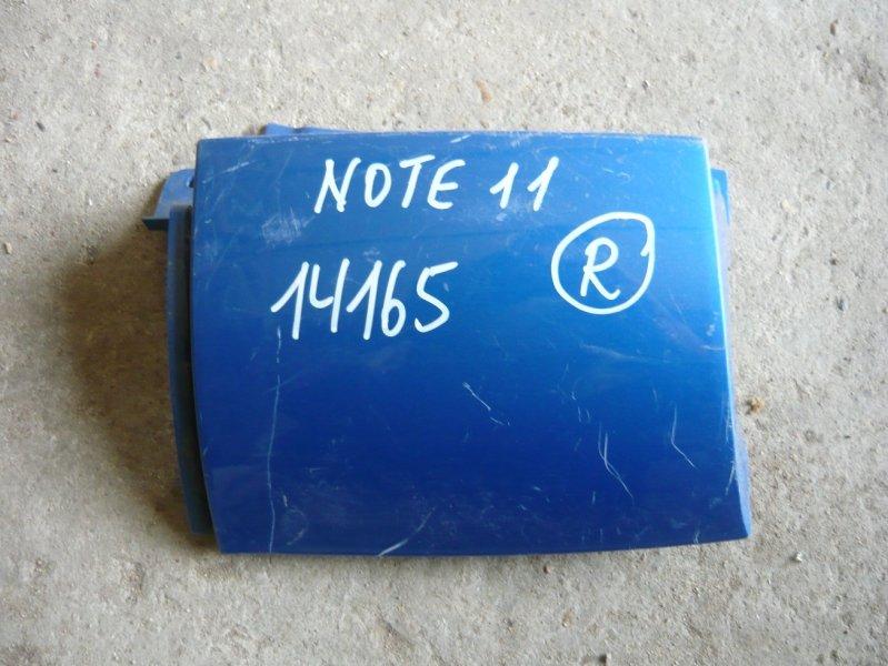 Планка под стоп Nissan Note NE11 задняя правая