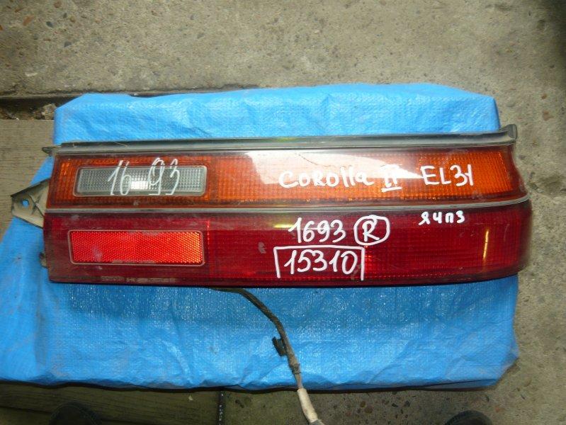 Стоп Toyota Corolla Ii AE81 задний правый
