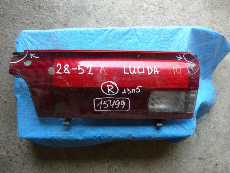 Вставка между стопов Toyota Lucida TCR21 задняя правая
