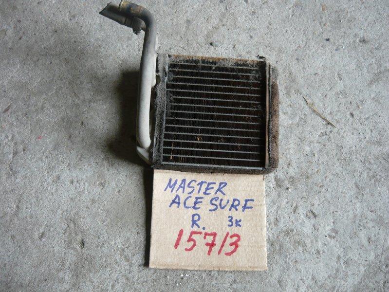 Радиатор печки Toyota Master Ace CR21 задний