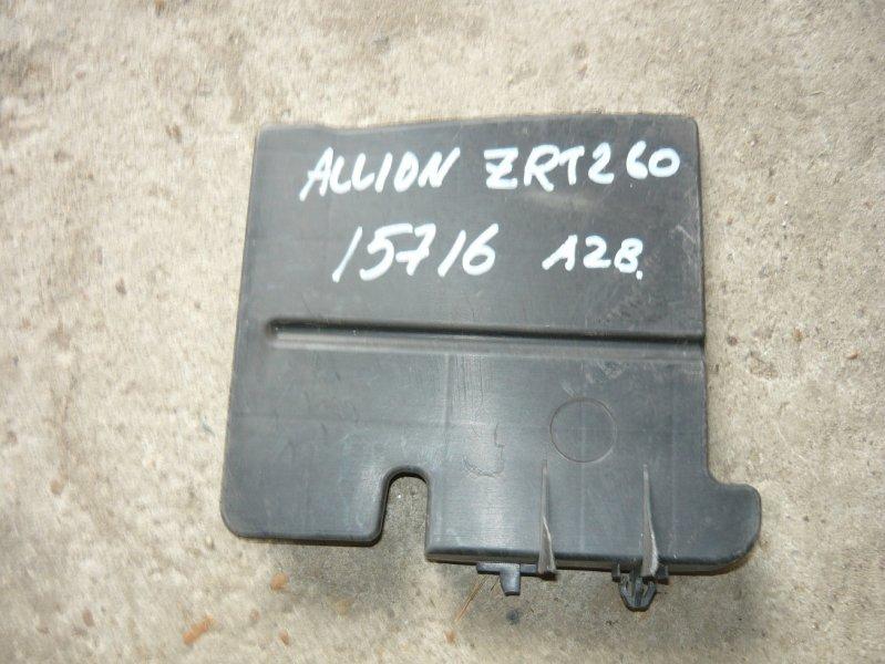 Защита радиатора Toyota Allion ZRT260 передняя