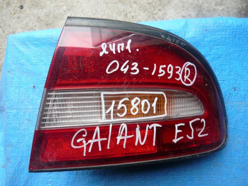 Стоп Mitsubishi Galant E54A задний правый